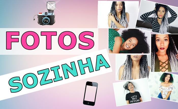 COMO FAZER ENSAIOS FOTOGRAFICOS SOZINHA