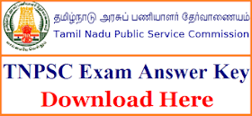Tamil Nadu PSC Civil Judge Pre Exam Answer Sheet 2018