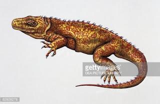 reptiles prehistoricos del triasico