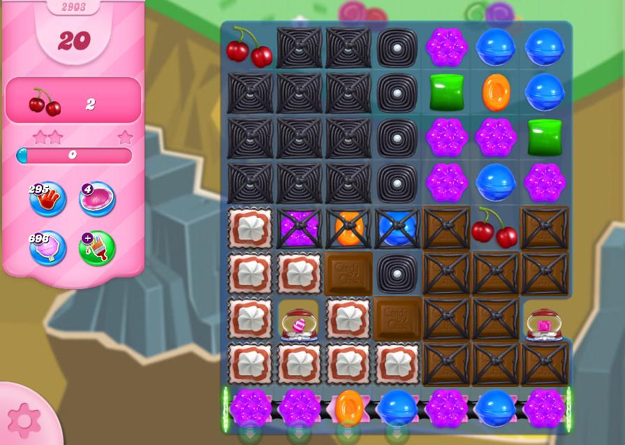 Candy Crush Saga level 2903