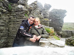 Kathy and Adam (at Tintagel)