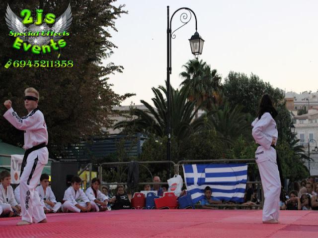 DJ ΕΠΙΔΕΙΞΗ TAE KWON DO ΣΥΡΟΣ SYROS2JS EVENTS