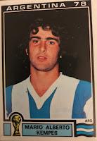 Figurina Kempes Argentina 78
