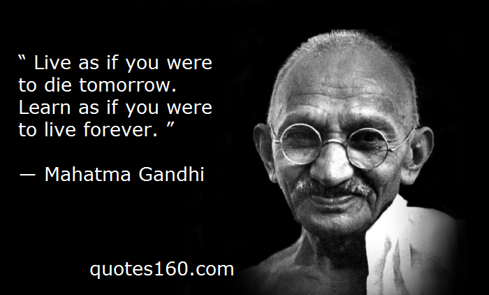 Gandhi Quotes: Share What/who Motivates You