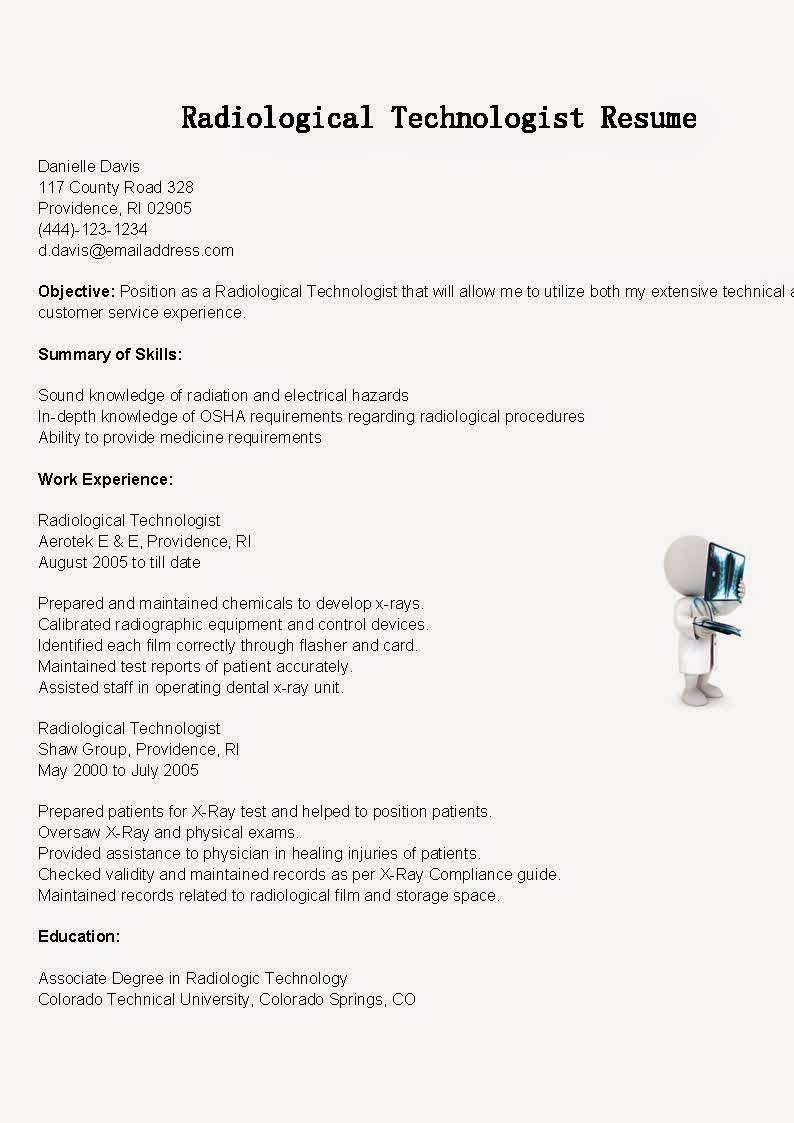 Cover Letter For Biotechnology Technician Care Technician Resume Resume For  Job Malaysia Medical Laboratory Technologist Free  Radiologic Technologist Resume Examples