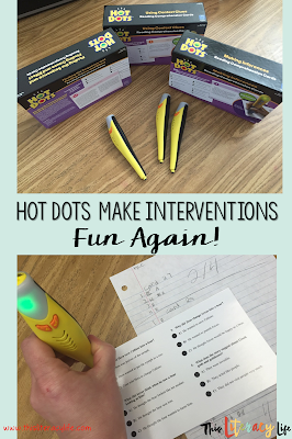 Kids love anything that lights up and makes noises! Hot Dots can make your intervention time fun again!