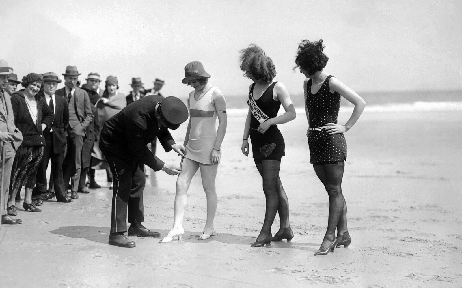Women found to be breaking the rules were either asked to leave the beach or made to cover up.