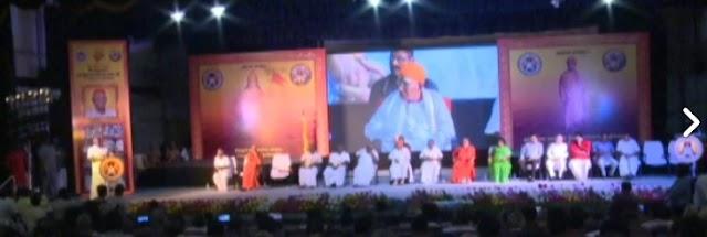 Swarnaabhisekam celebrations of Shri Ramagopalan, Hindu Munnani in Chennai