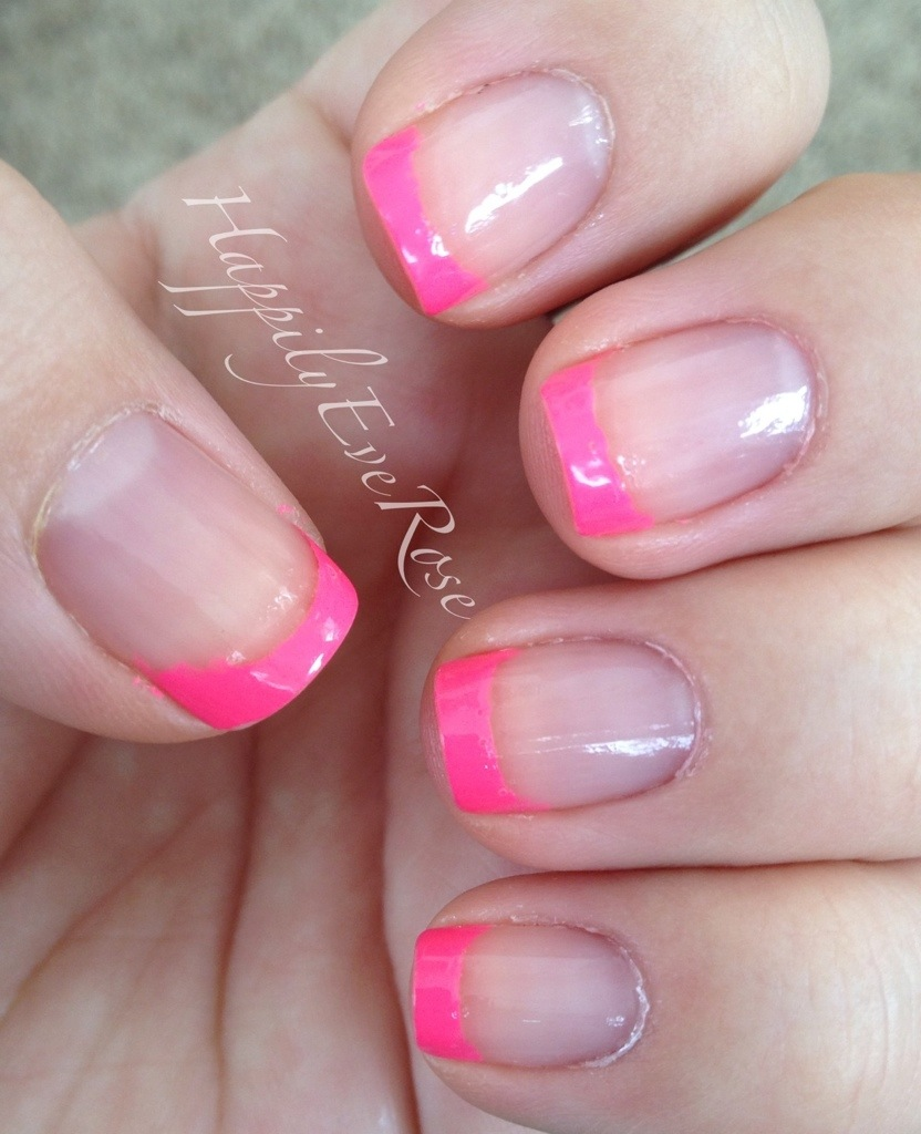 Newspaper manicure at home (newspaper print on the nails) 43