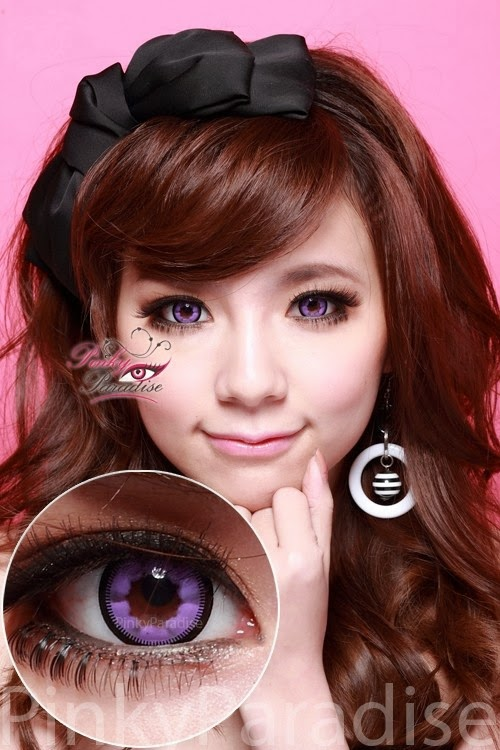 Vassen Cloud Nine Violet Circle Lenses (Colored Contacts)