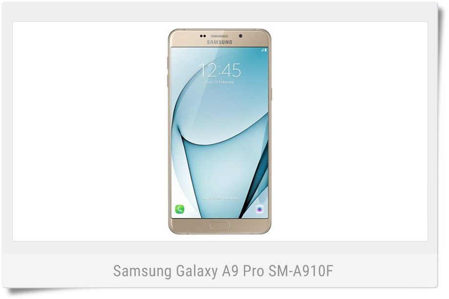 Stock Nougat Firmware for Galaxy A9 Pro SM-A910F (INS) India