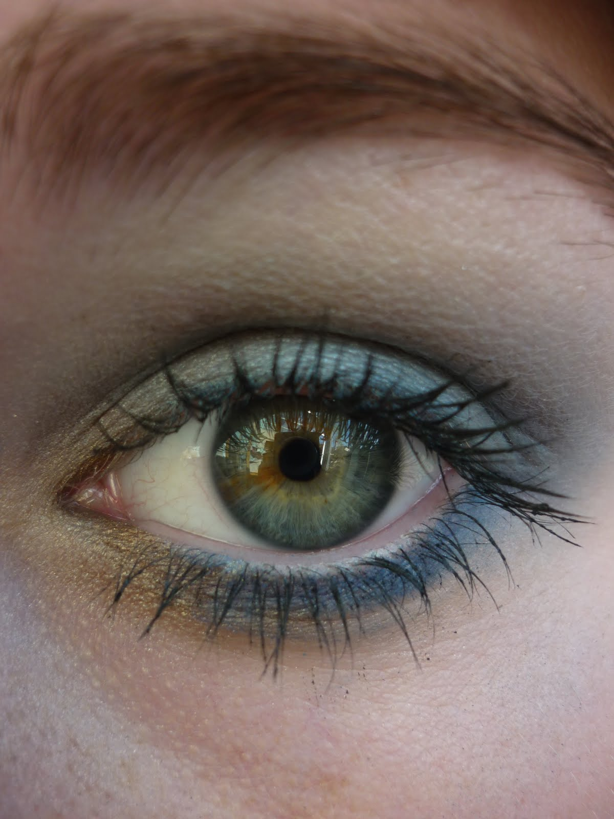 Bright Eyed Beauty Blog Review And Swatches Lime Crime: The Makeup Geek: Bright Eyed Look