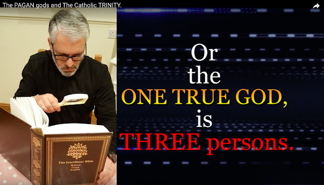 or that the ONE TRUE GOD, is THREE persons.