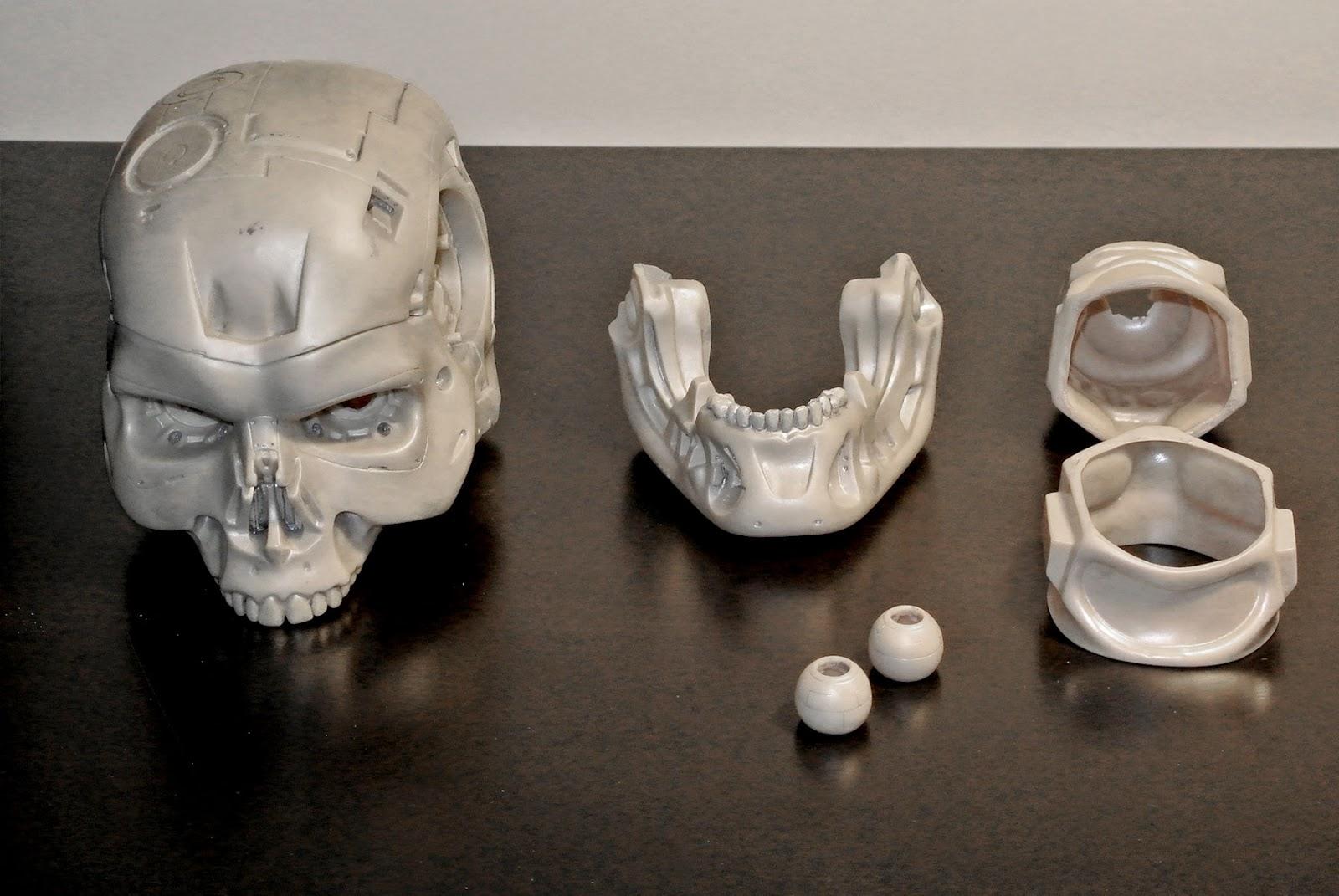 T800 101 Building A Terminator Endo Skull May 2014