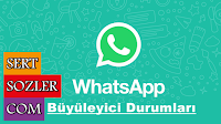 Sevgili kullanıcılarımız, sizler için birbirinden Büyüleyici Whatsapp Durumları bulduk, buluşturduk ve bir araya getirdik. İşte Büyüleyici Whatsapp Durumları Kısa ve Öz Anlamlı Sözler sizlerle.