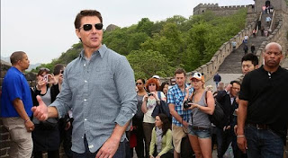 Tom Cruise En La Gran Muralla China