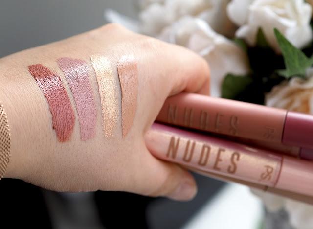 primark nudes lipstick swatches