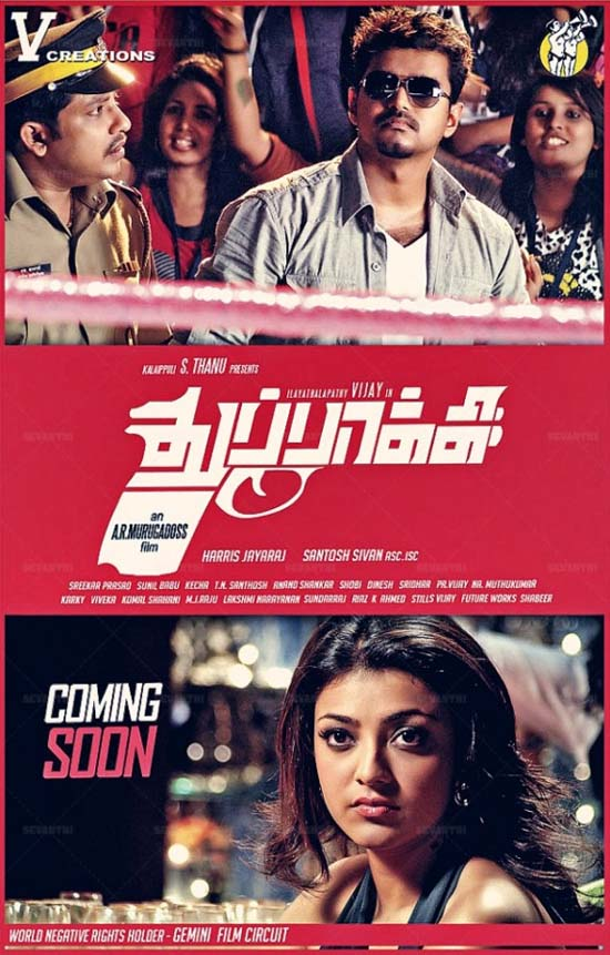 ilaya Thalapathy Vijay's Thuppakki Tamil Movie Review 4