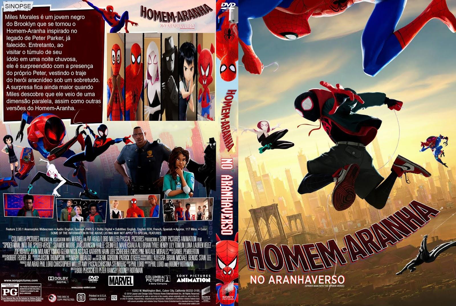 Filmes Séries Dvd R Homem Aranha No Aranhaverso Dvd R