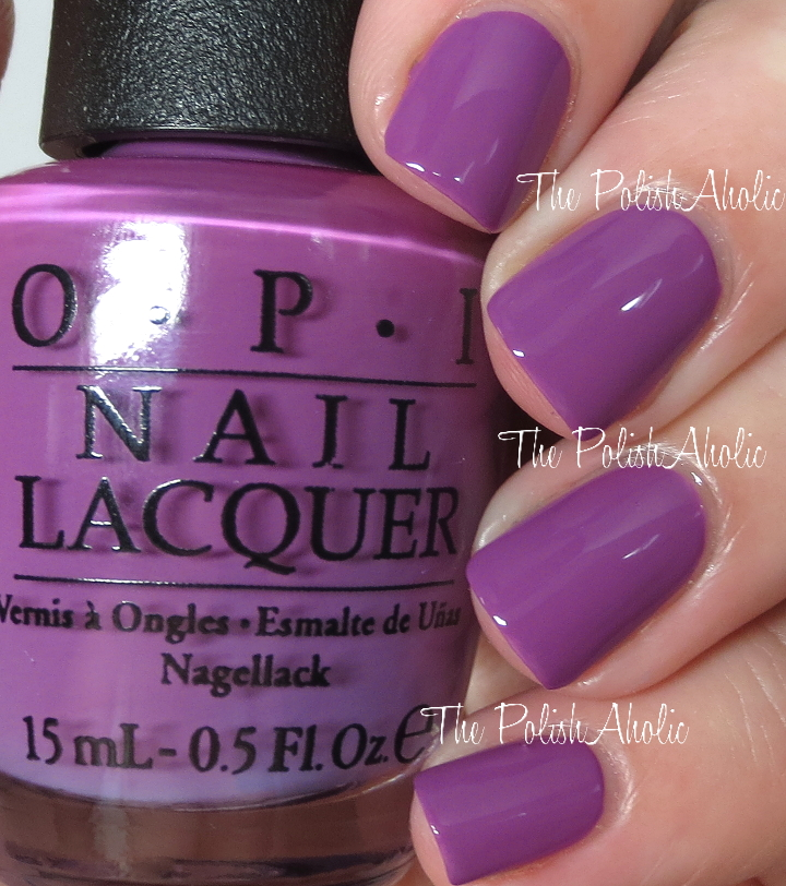 Opi Nail Polish Color Chart Purple Hession Hairdressing