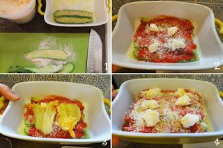 foto Ricetta zucchine alla parmigiana non fritte per bambini