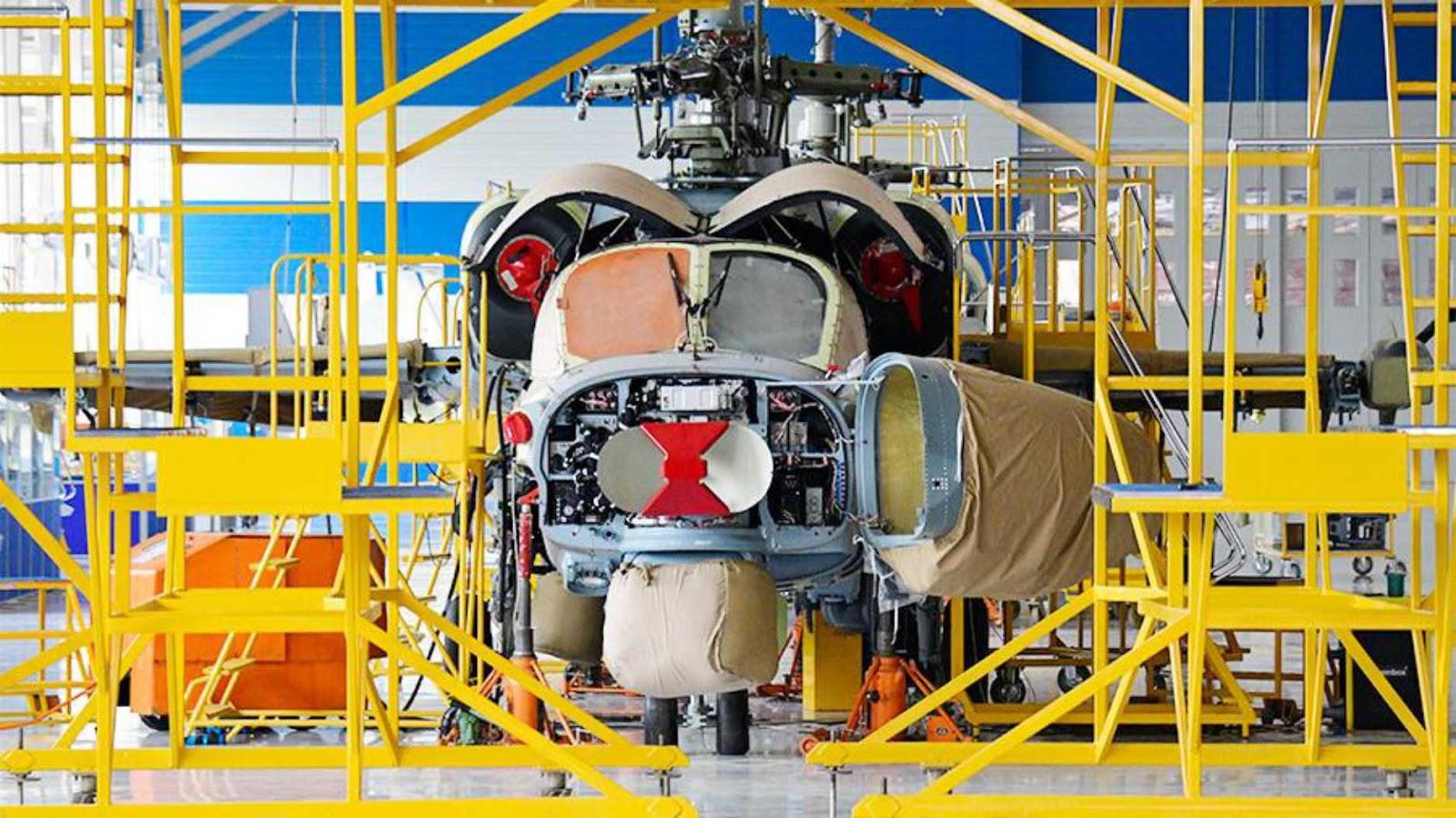 Helikopter Ka-52 Aligator baru akan lebih berotot