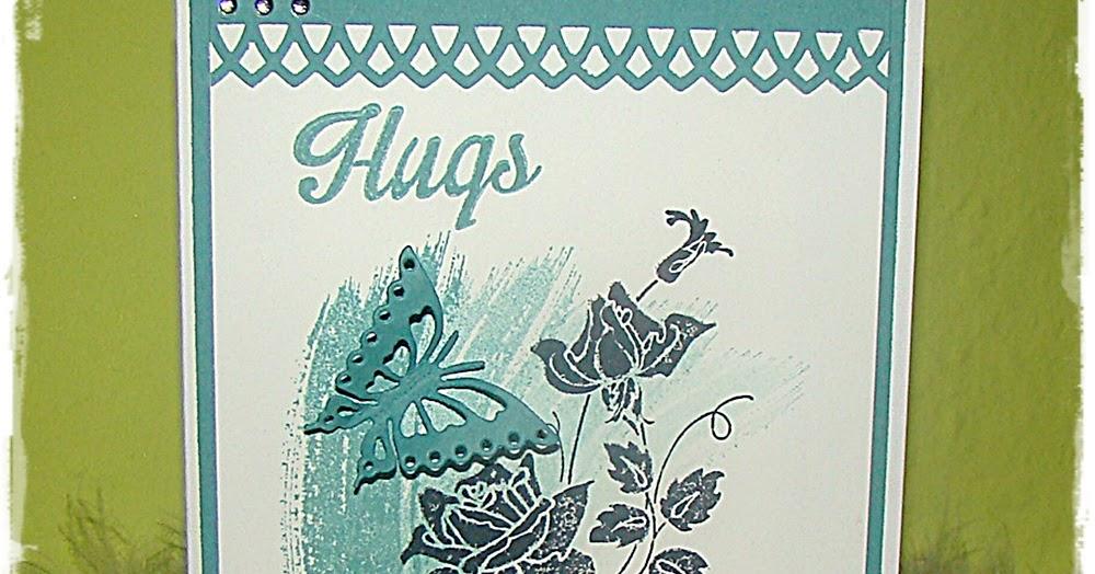 Kreativer Lifestyle mit Sybille Engbers: Kartengruß Hugs