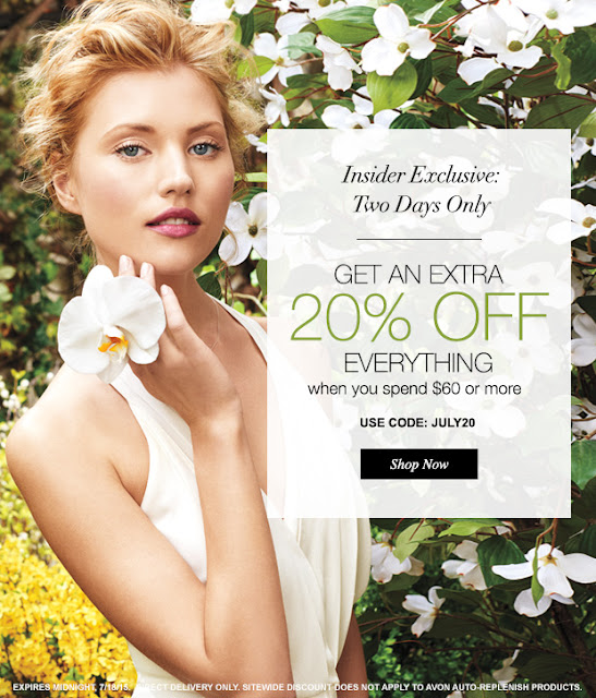 Avon Discount Code July 2015