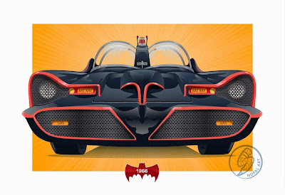 NOPAL Art: 1966 Batmobile