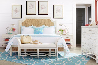 coastal cottage style bedroom