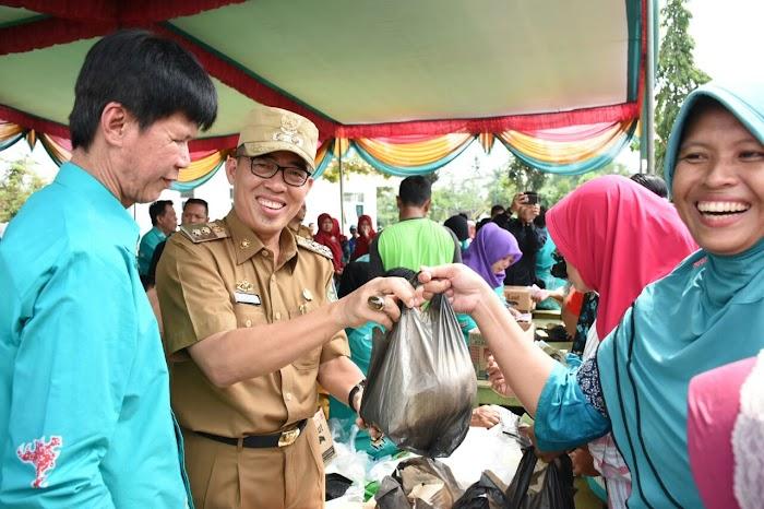 Pemerintah Kabupaten Lampung Timur Menggelar Pasar Murah