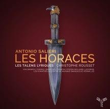 Salieri Les Horaces Les Talens Lyriques CD Aparté