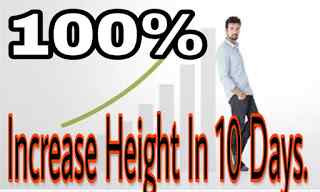 how to increase height naturally fast