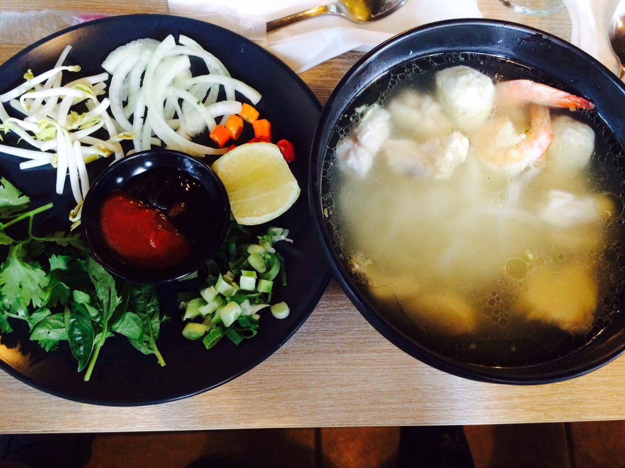 Madame Ching Menteng, Seafood Noodle Soup