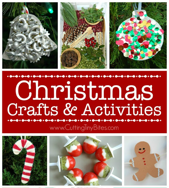 Christmas Crafts and Activities. Learning activities, gift guides, decorations, book lists, ornaments, kid-made gifts, crafts, and more for your preschooler, kindergartner, or elementary child.