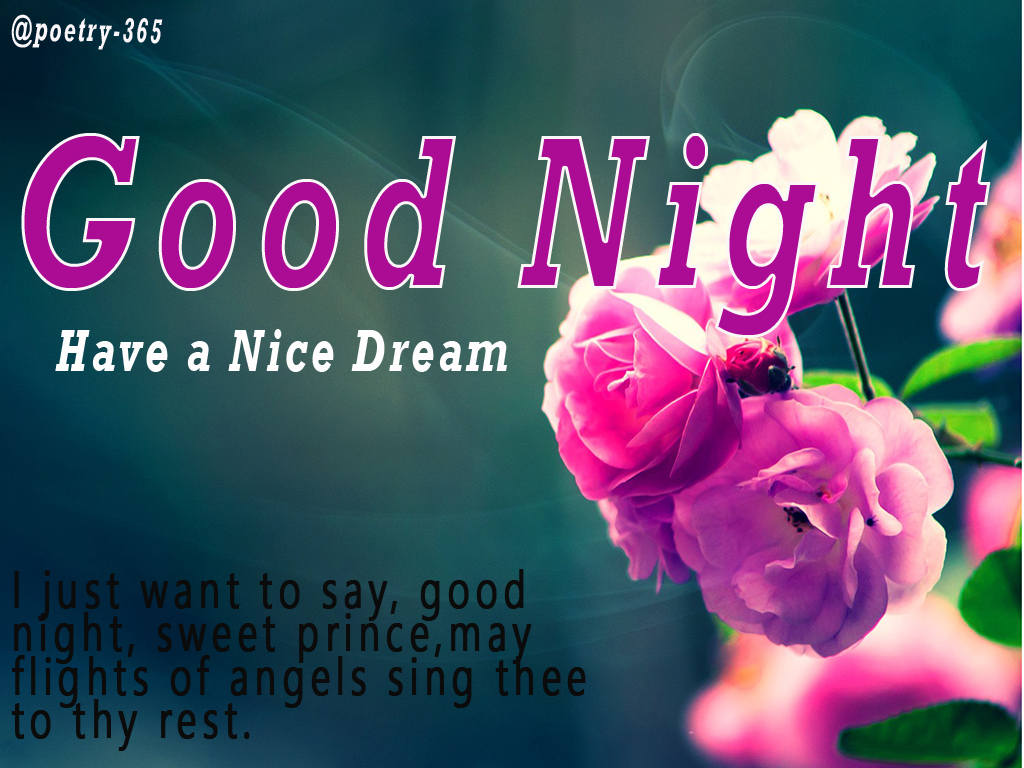 Wishes And Poetry Good Night Quotes And Images For Friends