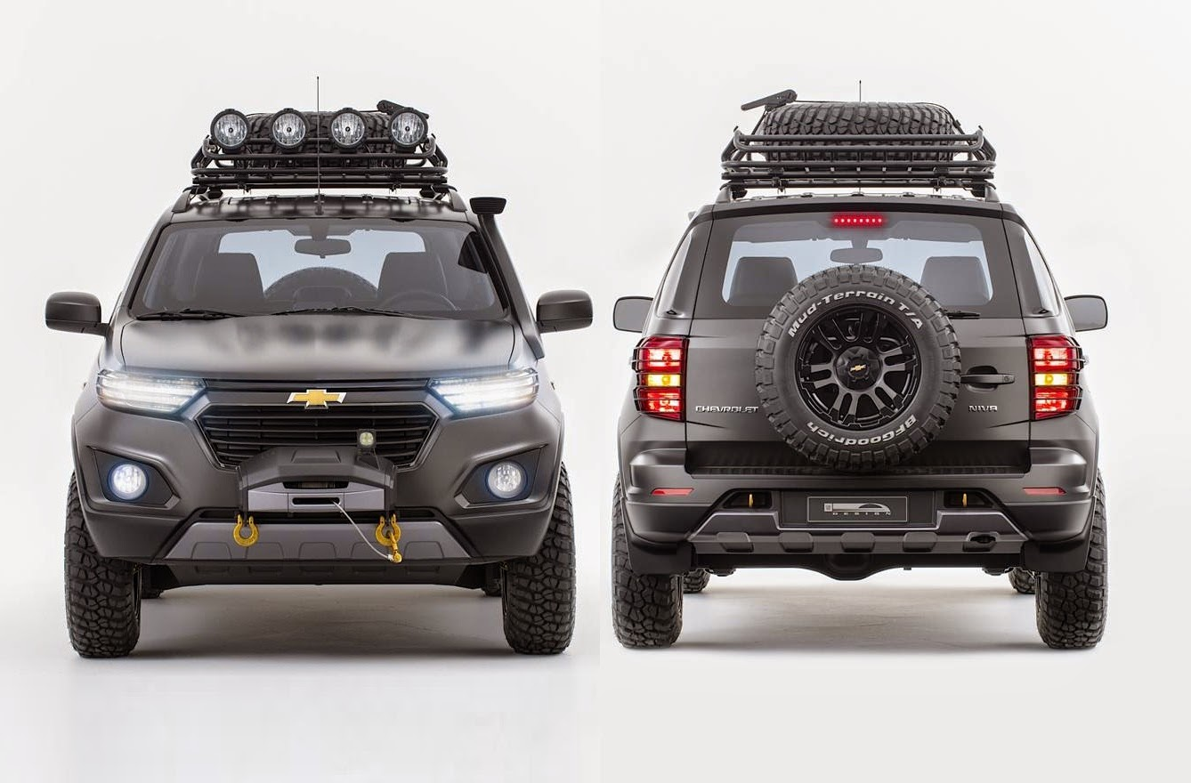 new chevrolet niva 4wd concept suv revealed | car reviews | new car