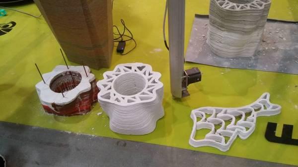 Elementi architettonici stampati in 3D