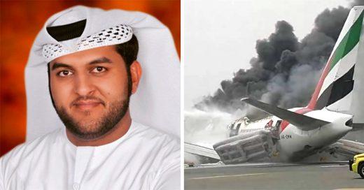Bombero muere al salvar tripulación de avión accidentado