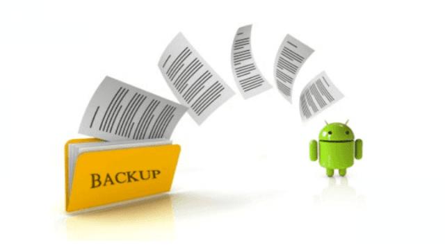 طرق عمل -باك اب- للاندرويد android-backup