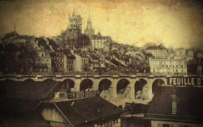 Σπάνιο ουράνιο φαινόμενο πάνω από την Ελβετία, το 1910…