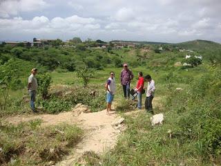 Iniciada a preparação do Horto Florestal da UFCG para encenação da Paixão de Cristo 2016 em Cuité