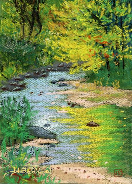 Classes in watercolors, pastels and sketching, Nagoya