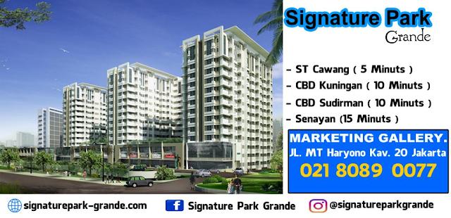 Investasi Apartement di Signature Park Grande Oleh Pikko Group