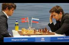 Carlsen vs. Karjakin 2016: el match final por el Campeonato Mundial de Ajedrez se puede seguir en vivo online