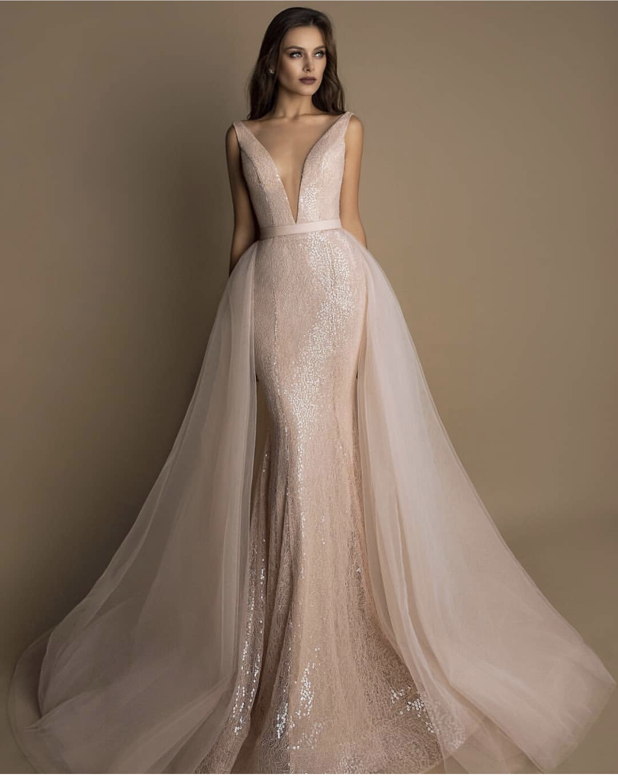 69c5e1a2e7ed 23 Colored Wedding Dress Ideas for Unique Brides