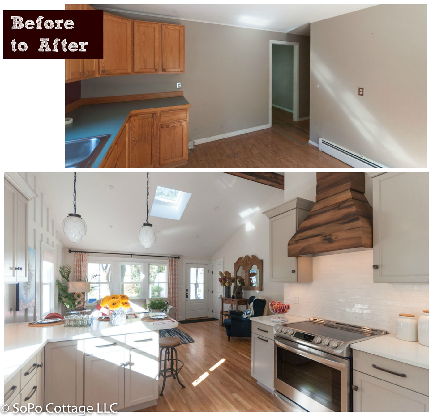 SoPo Cottage: Cozy Cottage: Renovating A 1960 Rancher