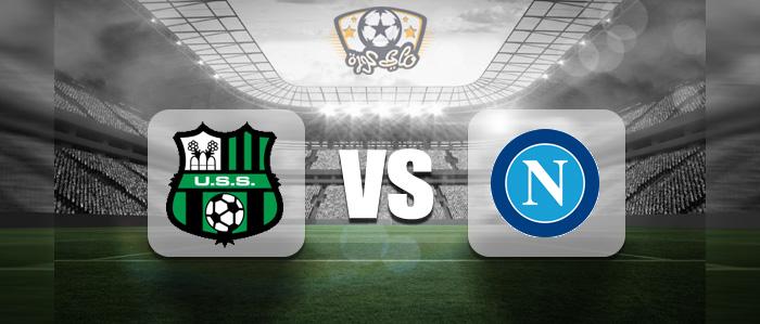 مشاهدة مباراة نابولي وساسولو بث مباشر