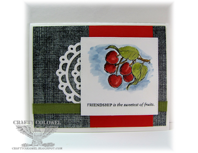 Crafty Colonel Donna Nuce for Cards in Envy Challenge Blog, CTMH stamp