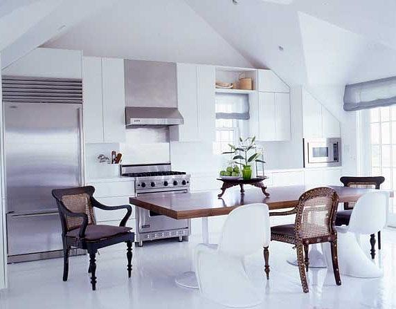 Vincent Wolf Interior Designer: TRIO DESIGNER: Cozinhas Em Inox